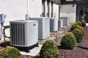 Different sizes of AC Units